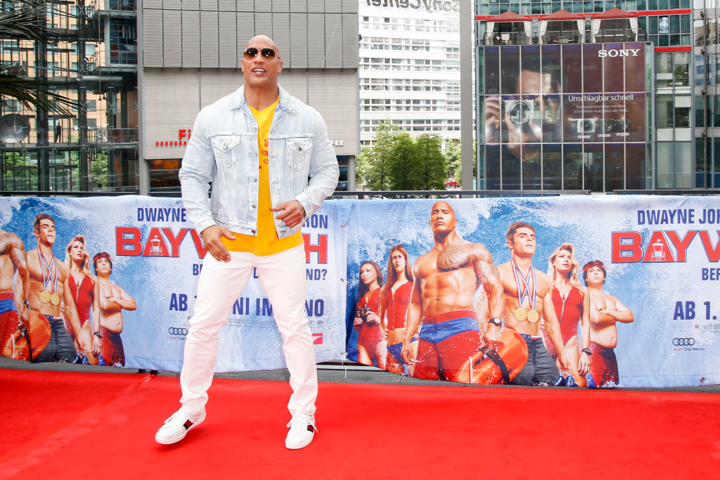 The Rock Is Finally Getting His Own Hollywood Star GettyImages 690176020