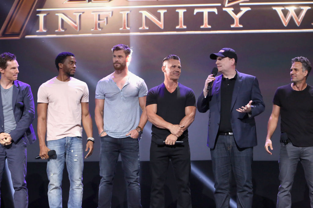 Avengers: Infinity War Press Tour