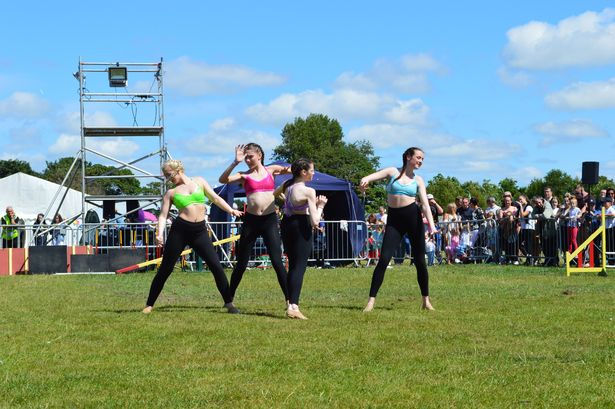 BGT Dancer Reveals Simon Cowell Has Paid For Her Life Changing Surgery MerseyGirls performing for the last time at Formby festival 1