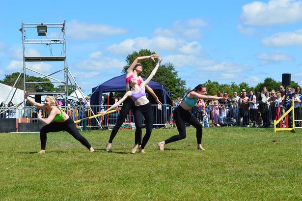 BGT Dancer Reveals Simon Cowell Has Paid For Her Life Changing Surgery MerseyGirls performing for the last time at Formby festival 2