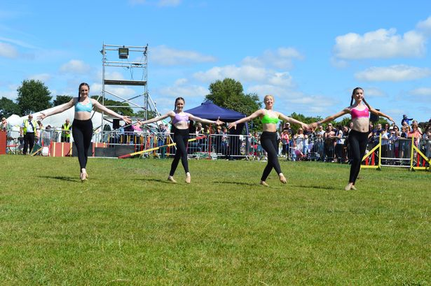 BGT Dancer Reveals Simon Cowell Has Paid For Her Life Changing Surgery MerseyGirls performing for the last time at Formby festival 3