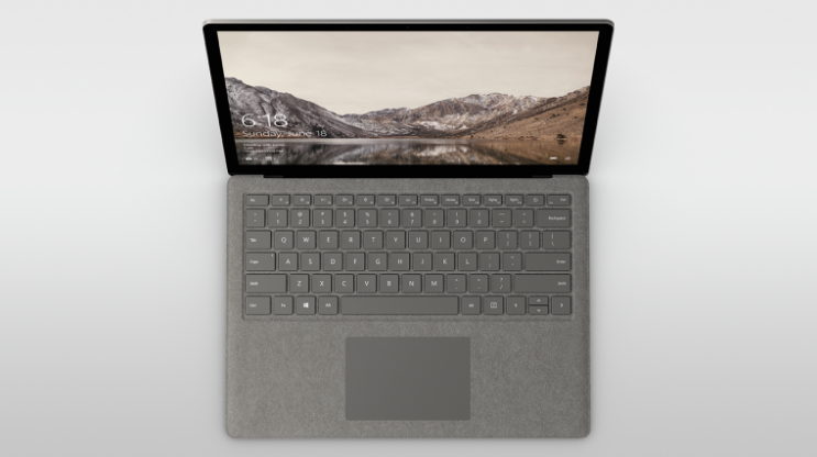 Microsoft Surface Laptop Review: Very Stylish And Secure Screen Shot 2017 07 13 at 13.46.37
