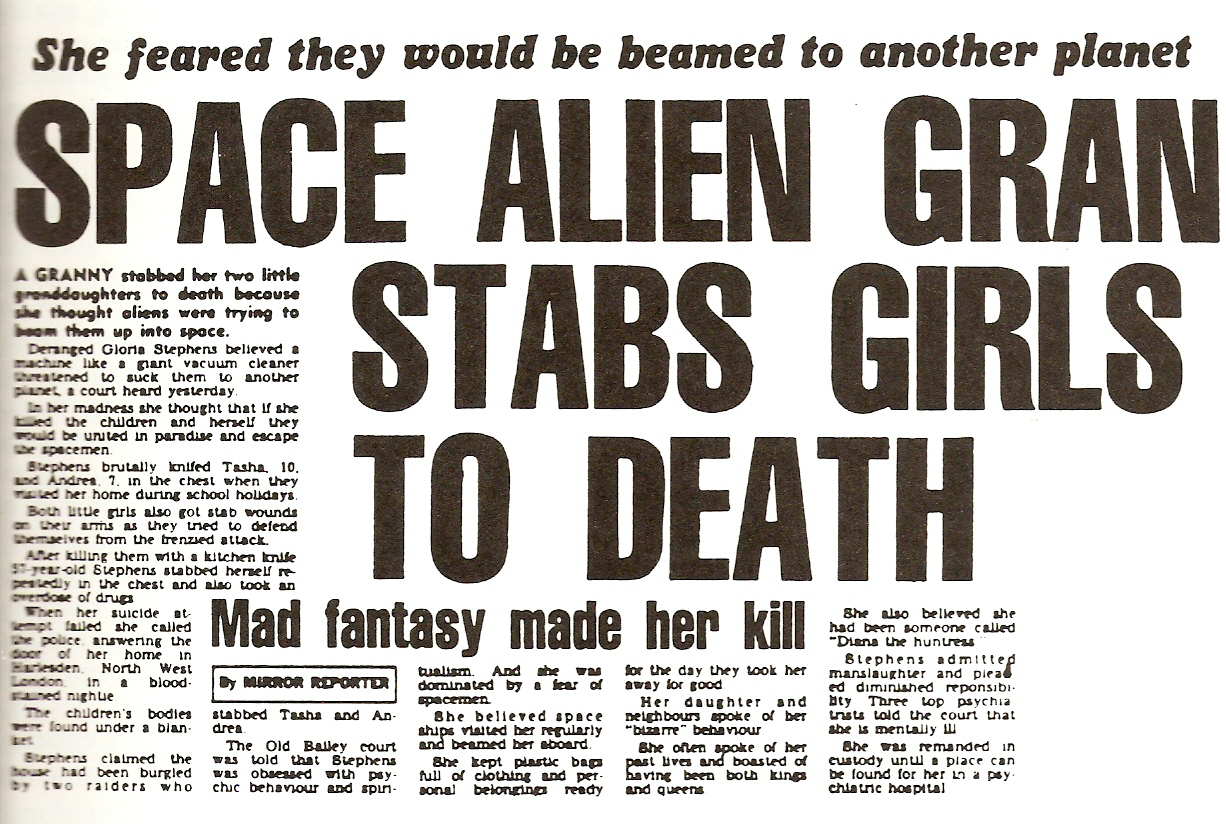 How Aliens Have Been Responsible For Many Horrific Murders Space Gran