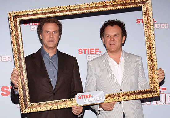 Will Ferrell and John C. Reilly of Step Brothers