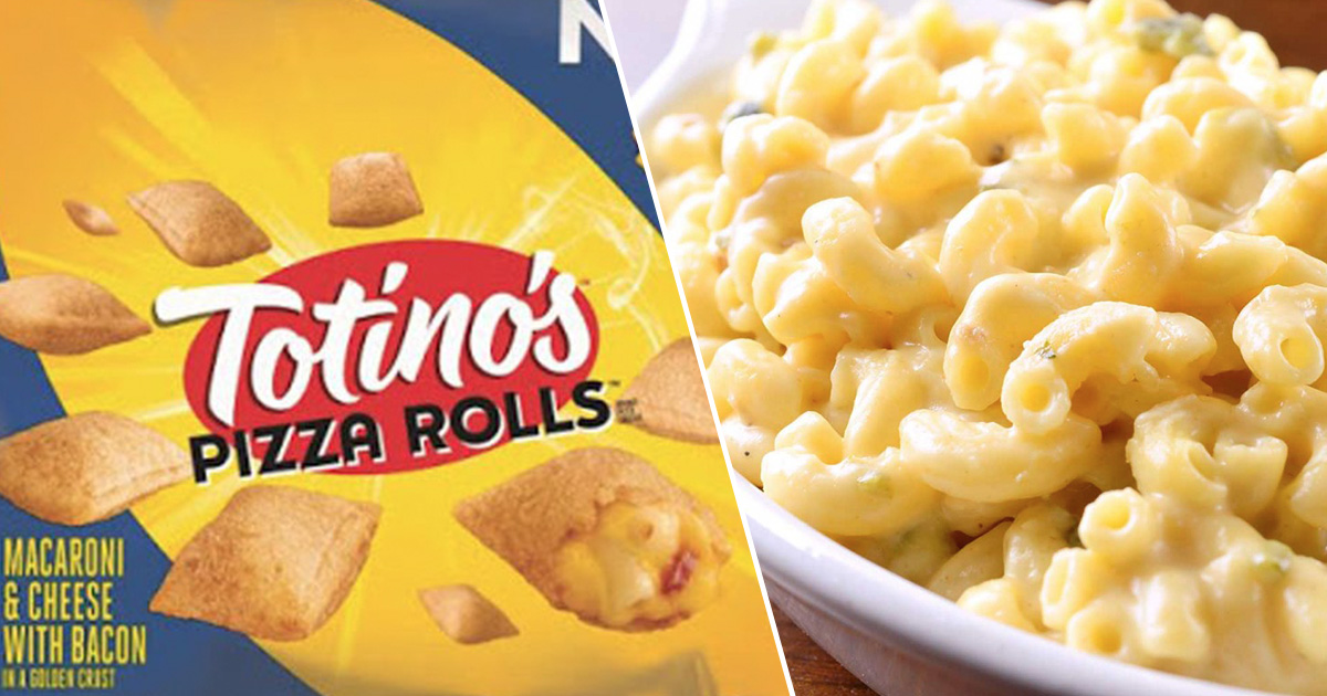 Totino's Have Just Created Mac 'N' Cheese Pizza Rolls