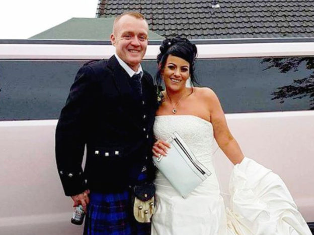 Overweight Couple Have Wedding Again After Losing Over 14 Stone Between Them WEDDING WEIGHT LOSS 624x468