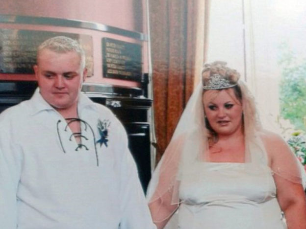 Overweight Couple Have Wedding Again After Losing Over 14 Stone Between Them William and Janice 2 624x468