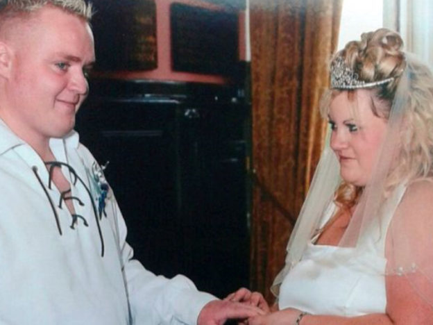 Overweight Couple Have Wedding Again After Losing Over 14 Stone Between Them William and Janice 3 624x468