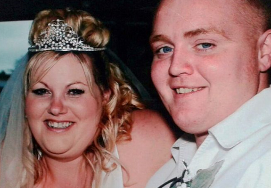 Overweight Couple Have Wedding Again After Losing Over 14 Stone Between Them William and Janice A