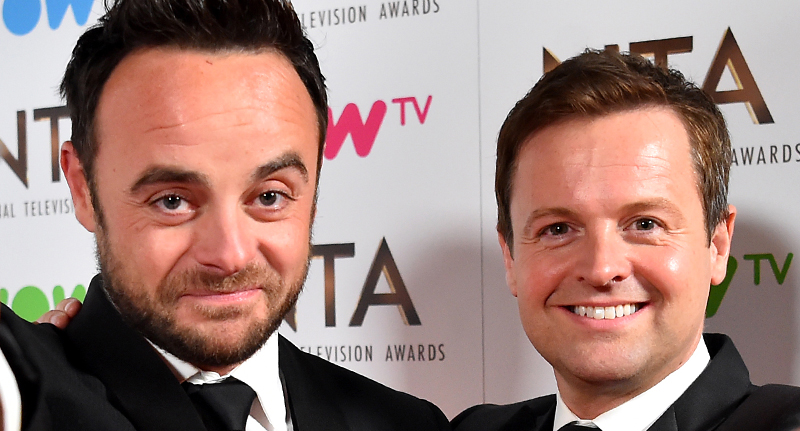 3.8 Million People To Lose ITV Next Month ant and dec fb
