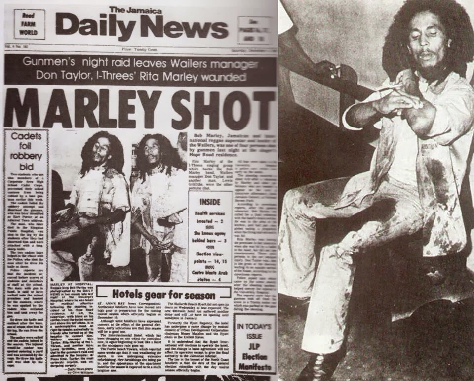 Theres A Theory That Bob Marley Was Assassinated By The CIA bob marley
