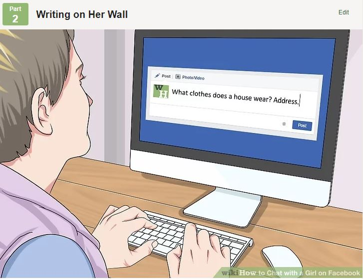 Theres An Actual WikiHow Guide To Picking Up Girls On Facebook how to wall