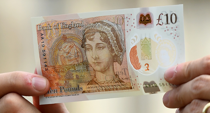 Woman Finds First White Cadbury Creme Egg And Wins £1000 jane austen 10 pound note fb