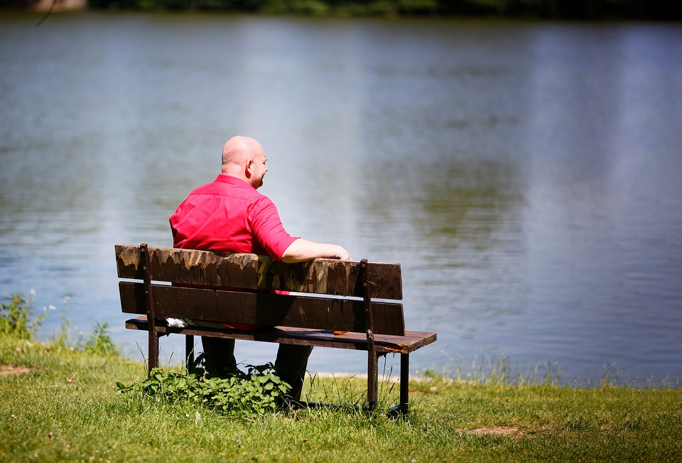 McDonalds Fries Could Help Cure Baldness pixabay bald man bench