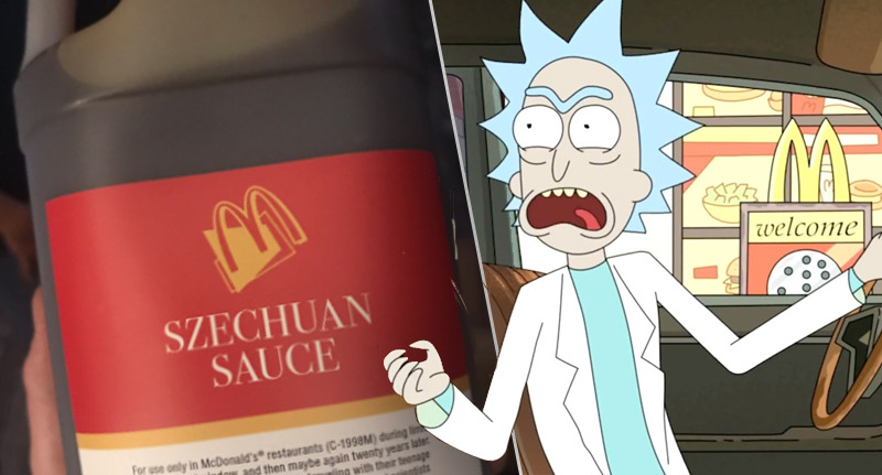McDonalds Have Officially Brought Back Szechuan Sauce From Rick And Morty szechuan sauce thumb