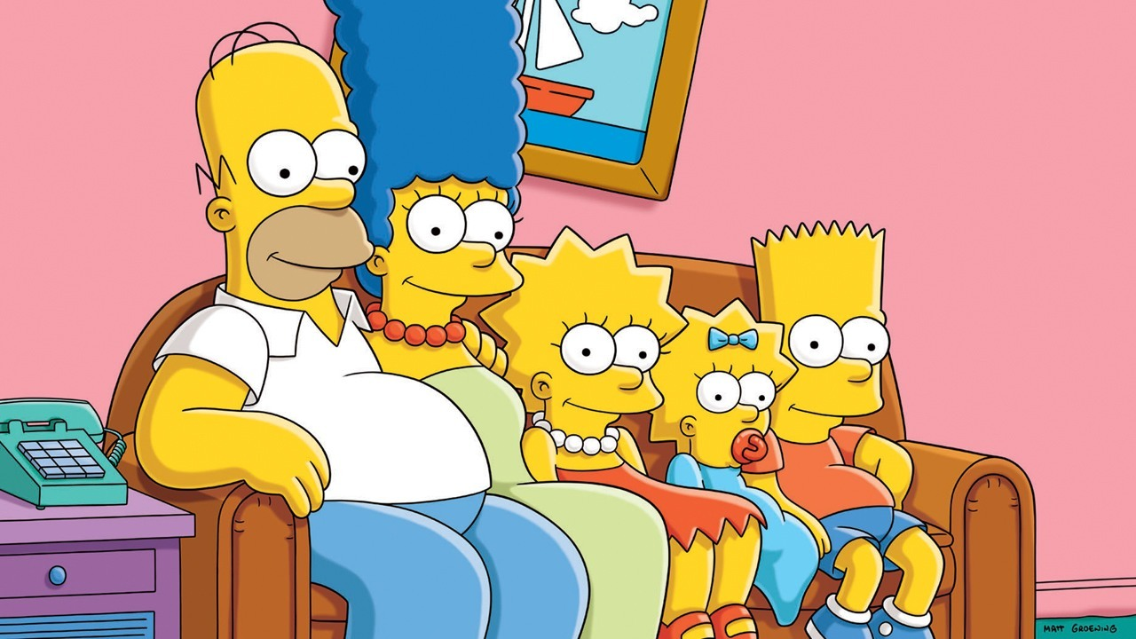 Heres How Old The Simpsons Would Be If They Aged Normally the simpsons couch 1280jpg 552cbc 1280w