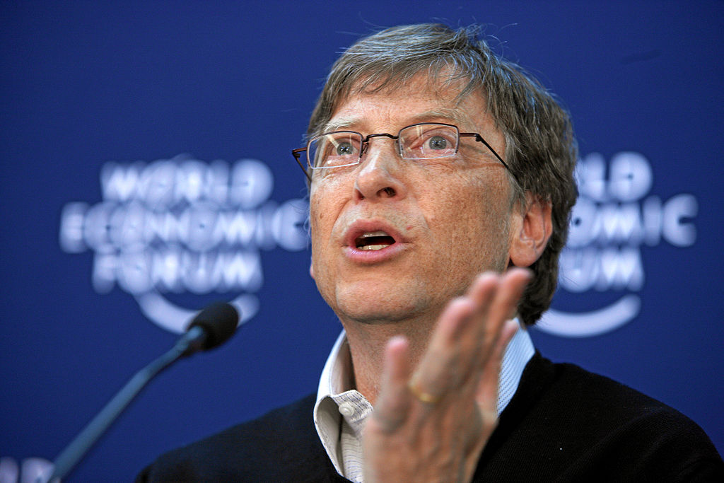 Left Handed People Are More Talented Than Right Handed People 1024px Bill Gates   World Economic Forum Annual Meeting Davos 2008 number2