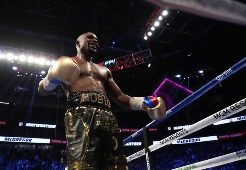 McGregor Has Second Most Punches Anyone Has Ever Landed On Mayweather 21169407 1728926540454236 241286158 o 797x552 1