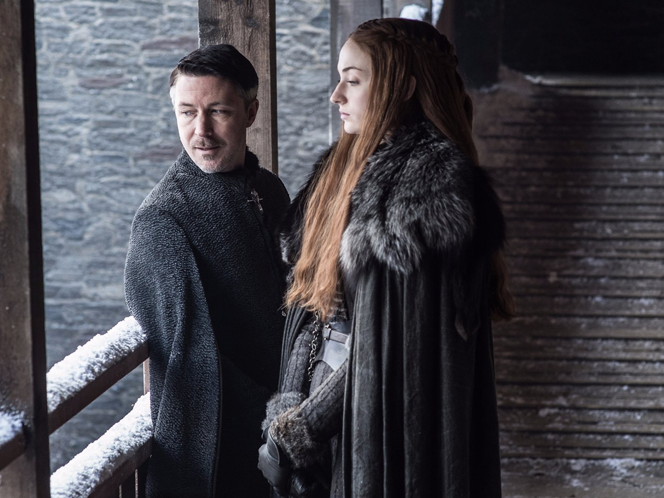 This is the dark meaning behind Sansa's outfits in new Game of Thrones