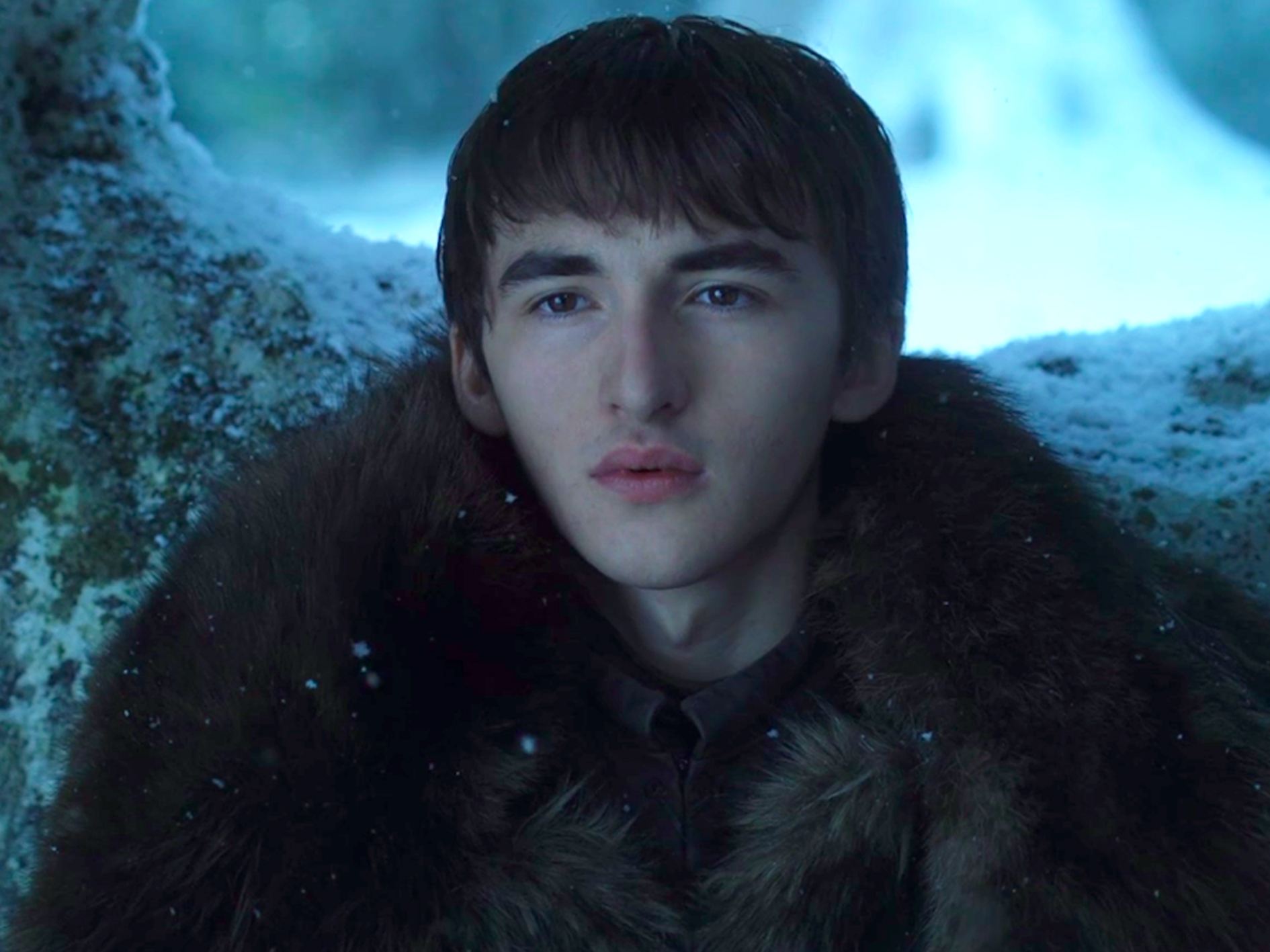 Bran Stark in Game of Thrones.
