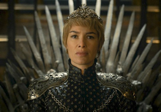 Cersei Iron Throne