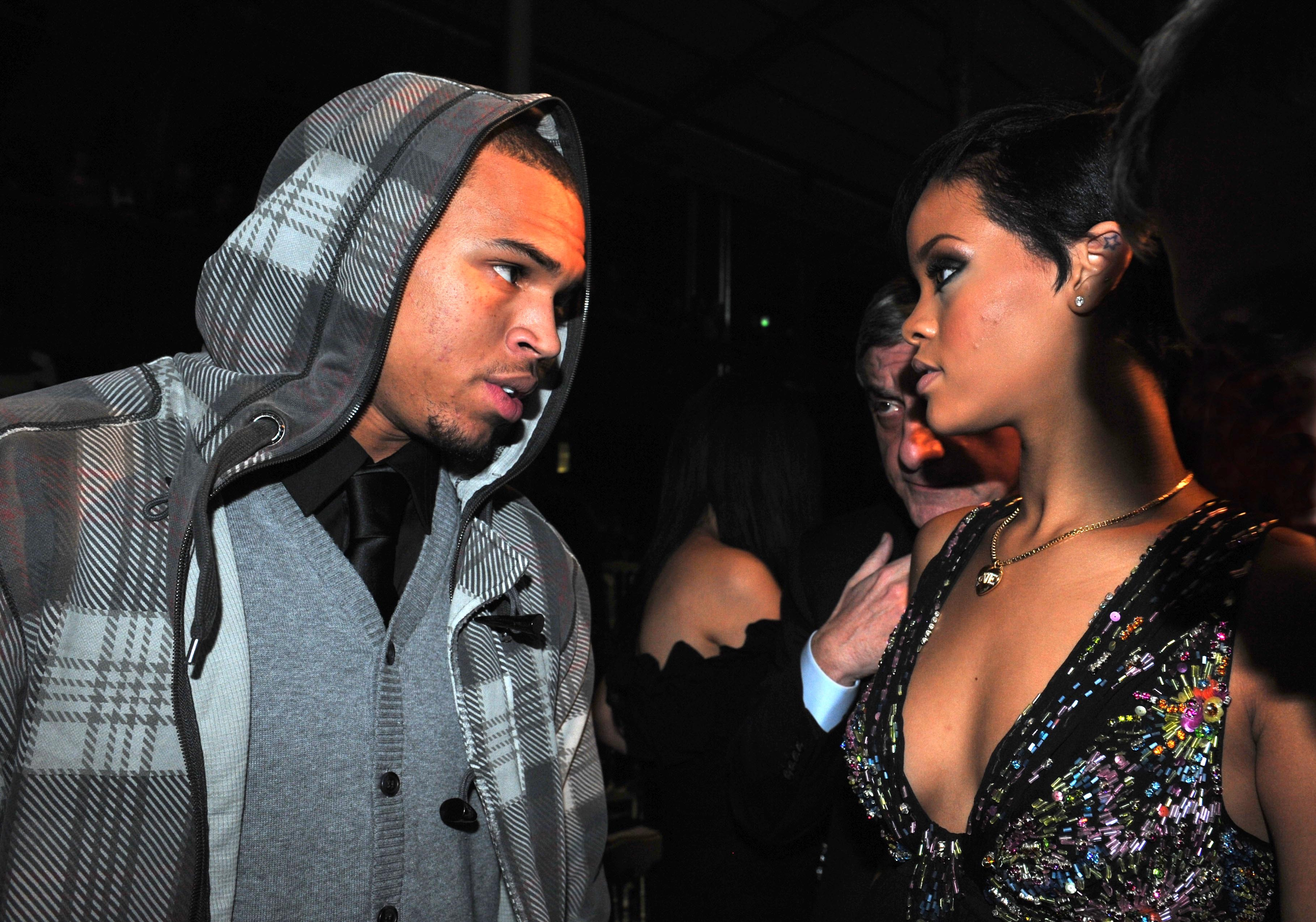 Chris Brown Reveals Graphic Truth About The Night He Beat Up Rihanna PA 5741636