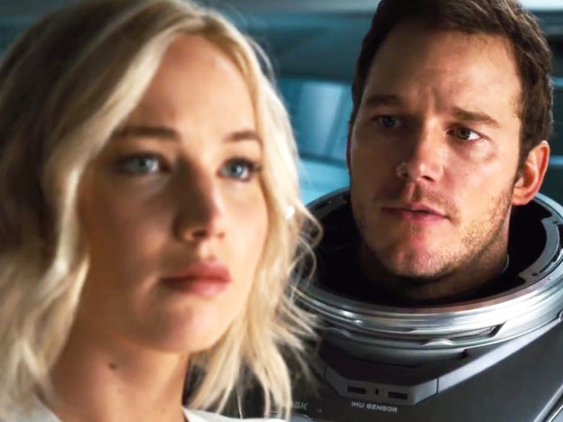 Jennifer Lawrence Is Being Blamed For Chris Pratt And Anna Faris Divorce Passengers 1 624x468