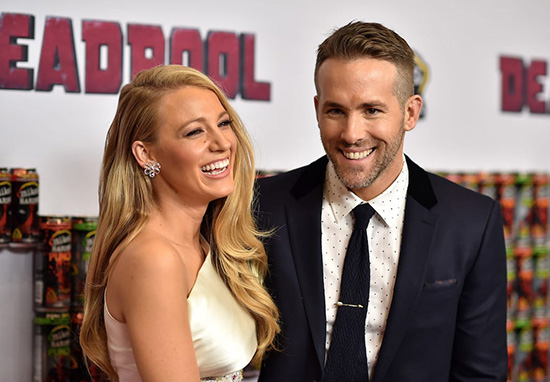 blake lively ryan reynolds deadpool premiere
