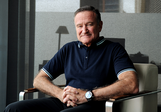 robin williams getty profile portrait