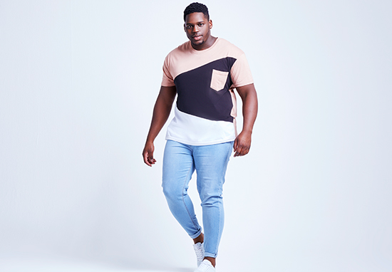 Plus Size Male Model Says Its Time For Men To Be More Confident Raul5