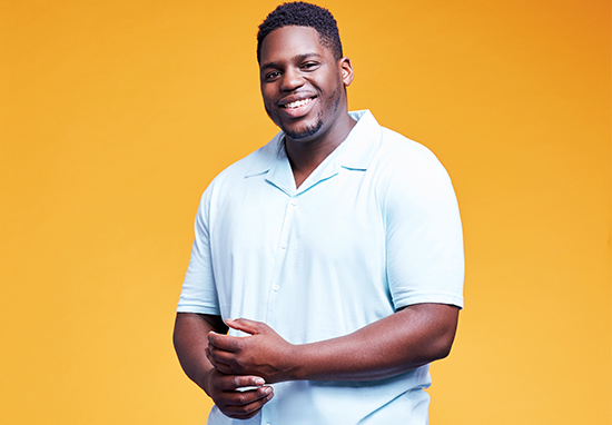 Plus Size Male Model Says Its Time For Men To Be More Confident Raul9