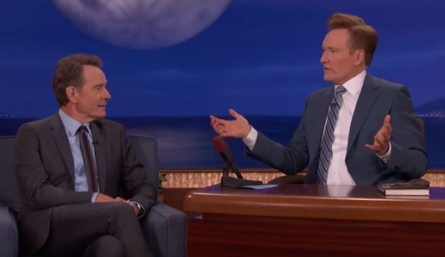 Bryan Cranston Reveals He Was Once Tricked Into Having Sex On A Train coco and cranston