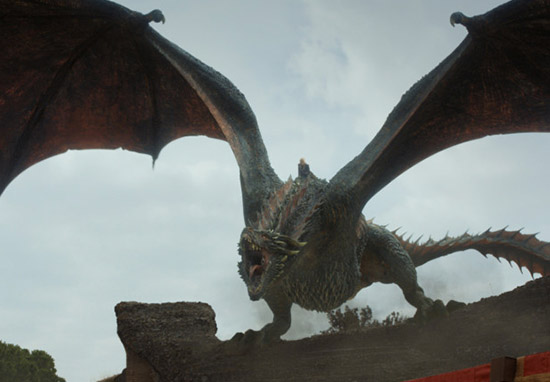 Game Of Thrones Officially The Most Bingeable Show Of All Time game of thrones dragon web thumb