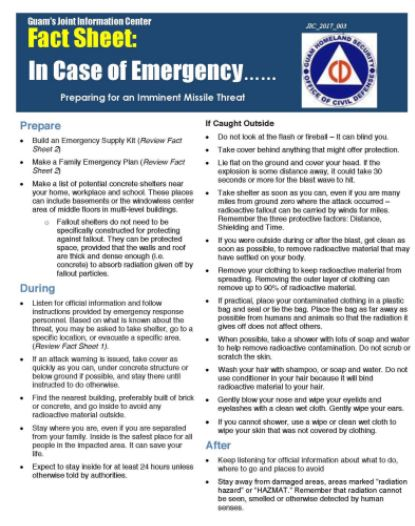 Image result for guam nuclear fact sheet