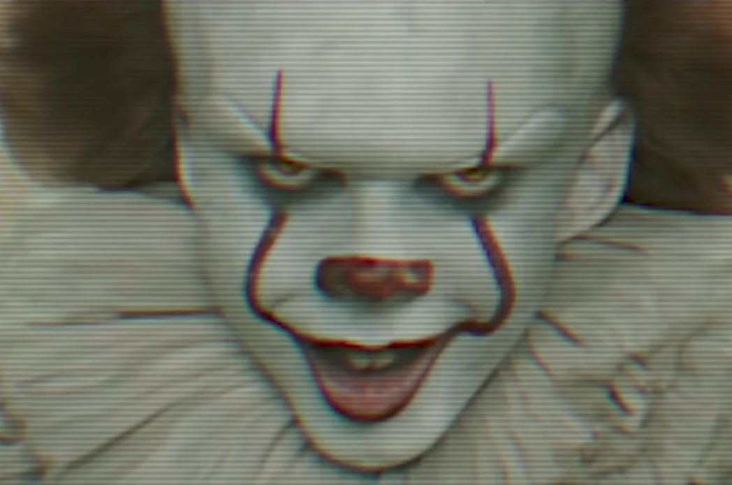 Fans Spot Bizarre Link Between Stranger Things And IT it pennywise clown movie 1048x694