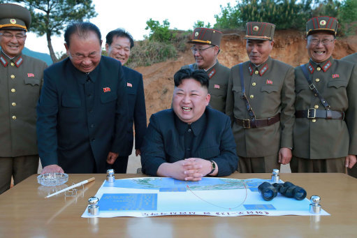 Kim Jong Uns Nuke Target Revealed And 265,000 People Could Die kim jong un