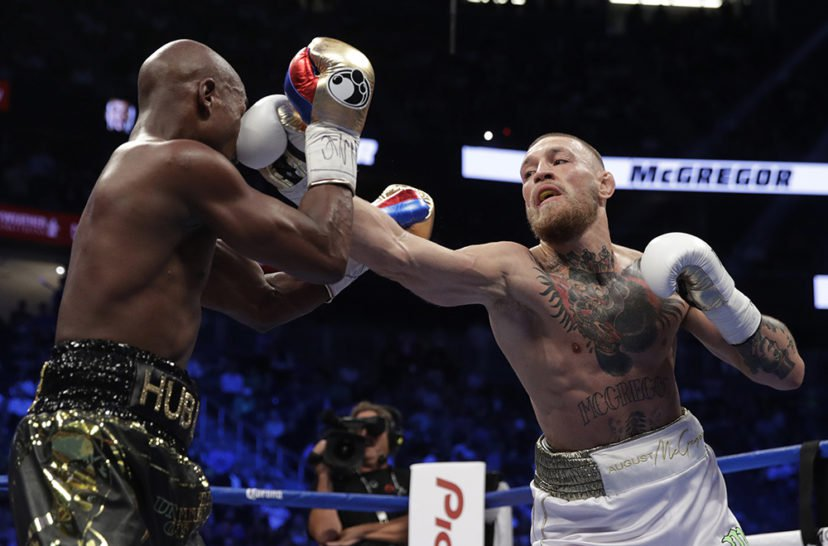 McGregor Has Second Most Punches Anyone Has Ever Landed On Mayweather mcgreg PA 32531006 resize 828x546 1