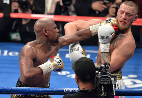 Floyd Mayweather Is Considering A 51st Fight mcgregor mayweather web thumb