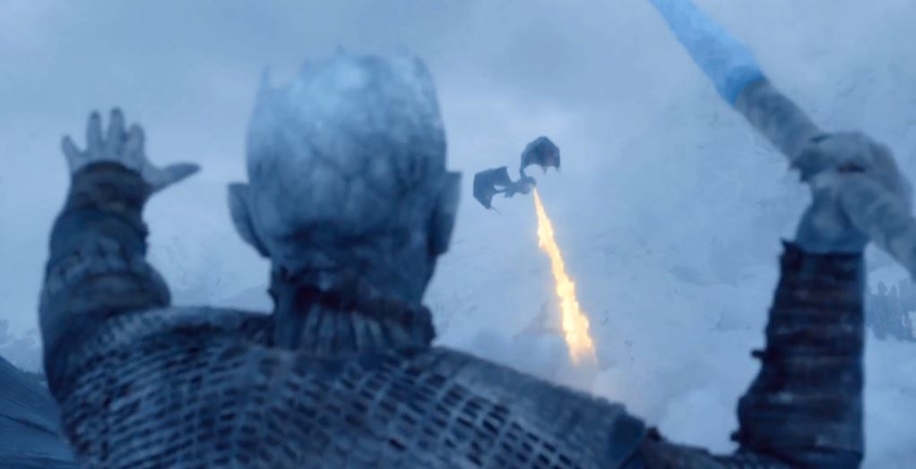 Heres Where The Night King Got Those Chains In This Weeks Game Of Thrones night king javelin