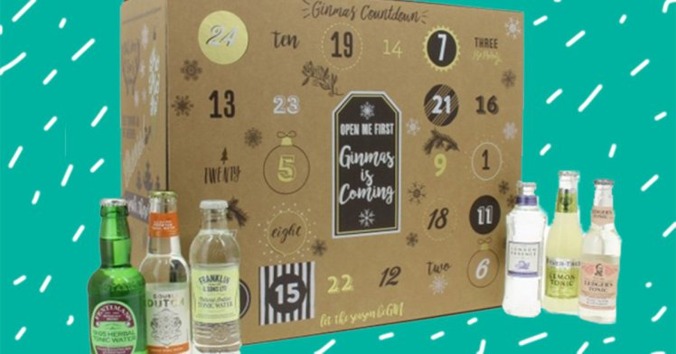 Theres A G&T Advent Calendar That Comes With A Full Bottle Of Gin pri 51023512