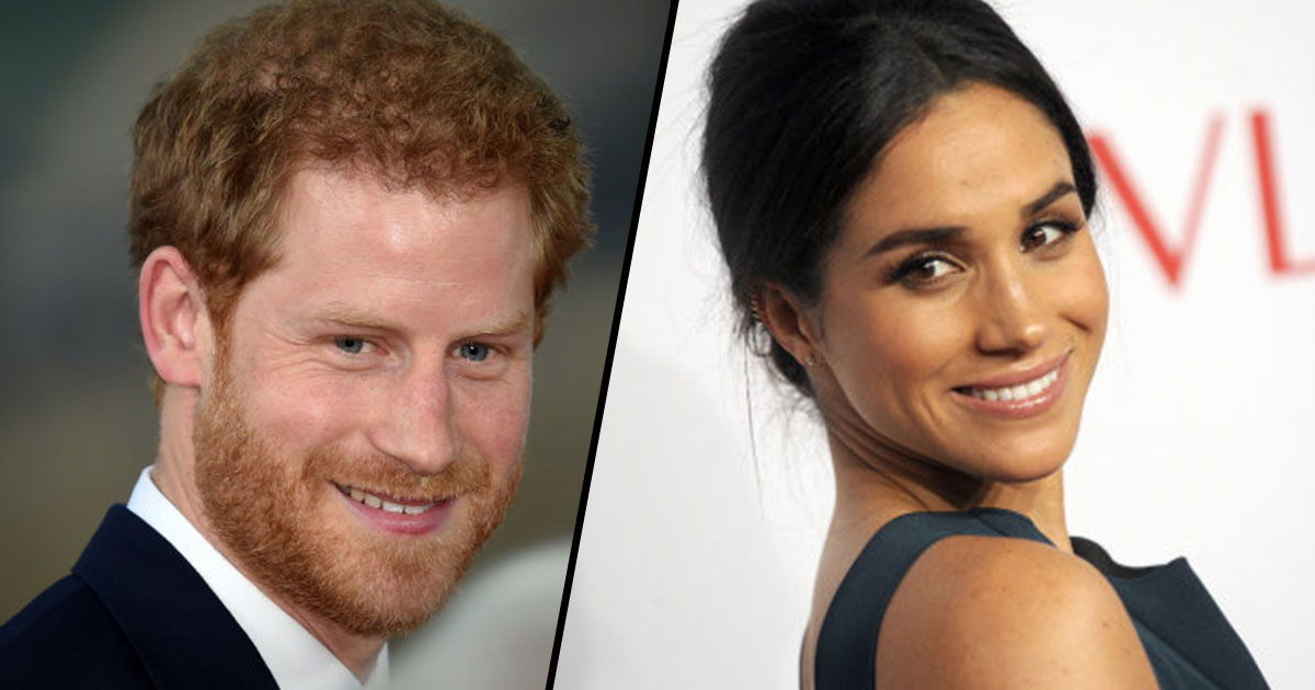 Prince Harry And Meghan Markle Are Engaged prince harry meghan fb thumb