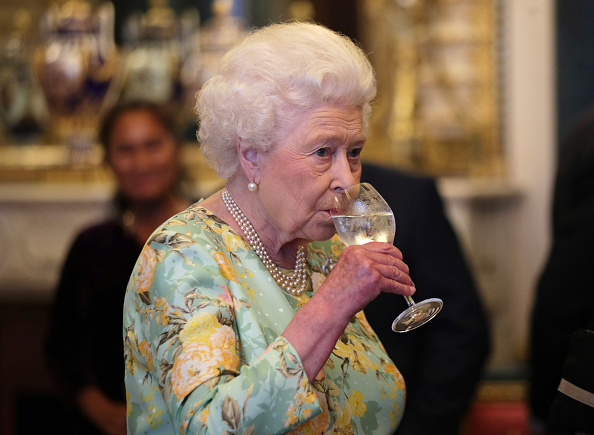 The Secret Plans For When The Queen Dies queen drinking 1