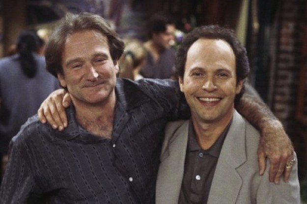 Robin Williams with Billy Crystal