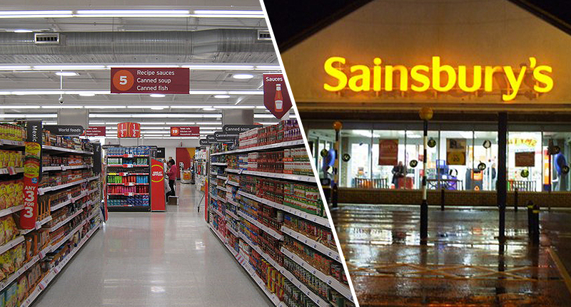 Schoolboys Lock Themselves Inside Sainsbury S And Take 163