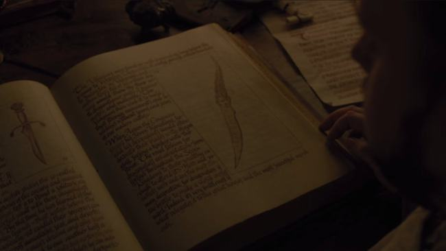 This Dagger Could Change Everything On Game Of Thrones samwell tarly dagger book