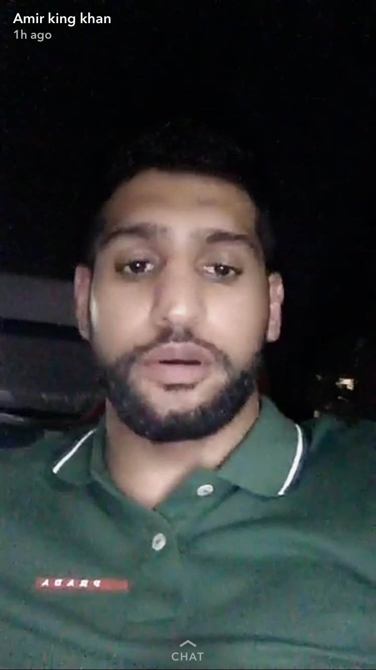 Amir Khan Claims Everything He Tweeted About Anthony Joshua Is True