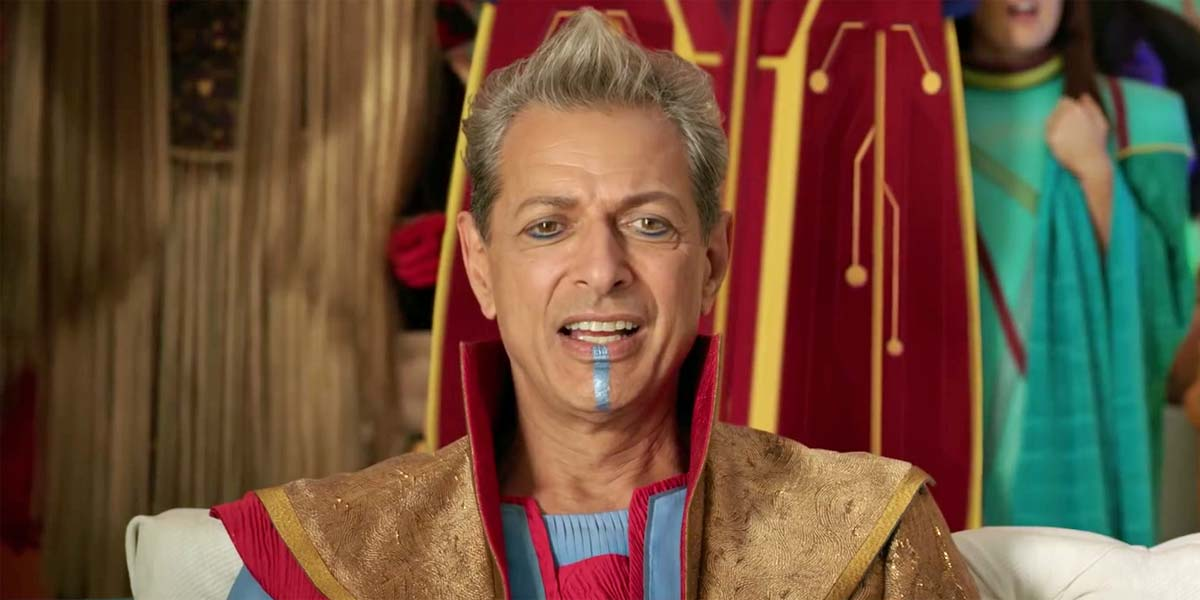 Jeff Goldblum Analysing And Rating Jeff Goldblum Tattoos Is Incredible thor ragnarok jeff goldblum