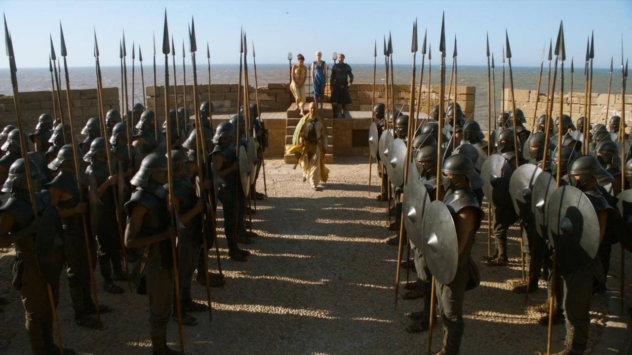 Speech From Game Of Thrones Season One Predicts Outcome Of Season 7 unsullied1