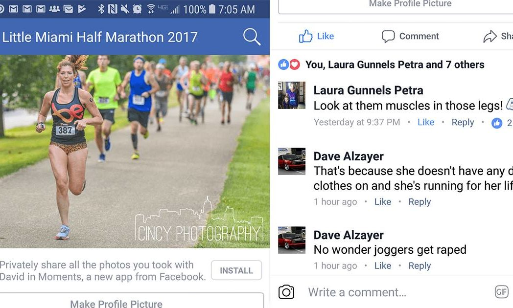 Marathon Runner Told Her Outfit Is Why Joggers Get Raped 21284612 10159332377230374 33708256 o 1048x630