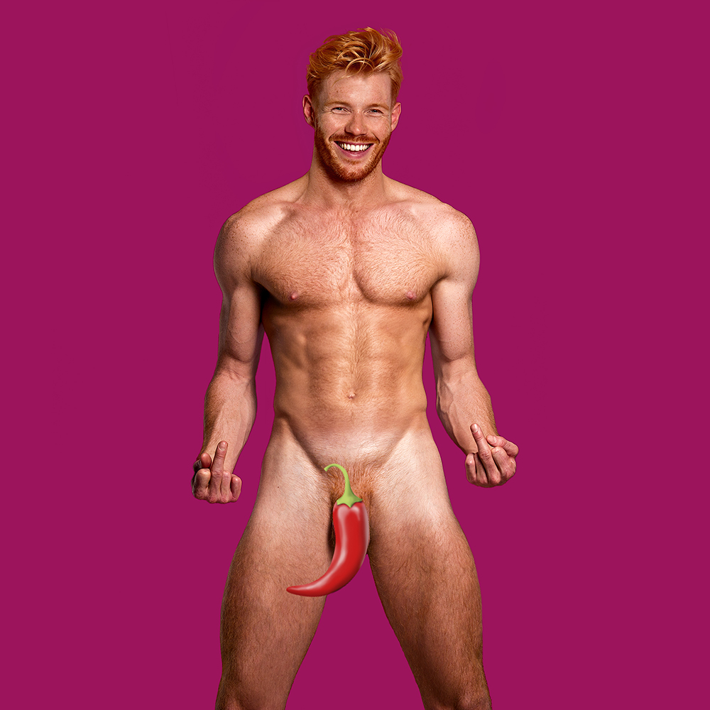 New Calendar Trying To Make Ginger Pubes Sexy Is Looking For Volunteers 341B7025pink